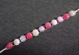 Armband gefused glas